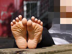 Feet 068 - Enjoy Her Bare Soles!