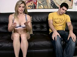 Cory Chase feet and Handjob