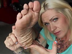 Self Foot Worship 4