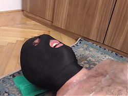 wrapped slave get trampled by princess smiley