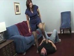 Mistress pantyhose domination