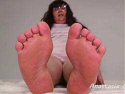 Worship bbw feet 2